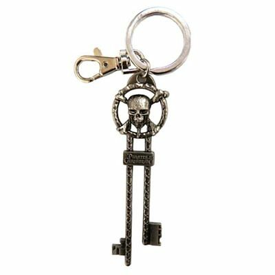 Disney * Pirates of the Caribbean Master Key * Key Chain Pewter Keychain Clip