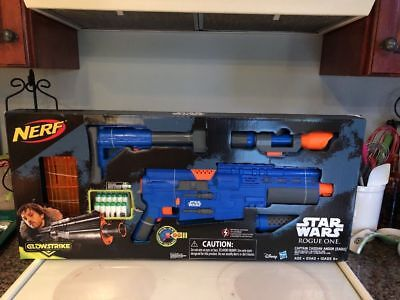 Nerf Star Wars Rogue One Captain Cassian Andor Deluxe Blaster Roleplay Toy Gun