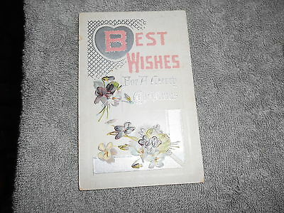 Vintage - Post Card - Best Wishes - Have A Merry Christmas - 1939 - Pm Polk , Oh