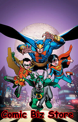 Super Sons Dynomutt Special #1 (2018) 1St Printing Variant Cover Dc Comics