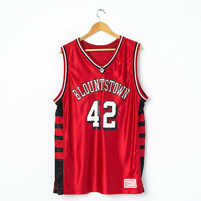 eec24a9deaae Vintage Oversized Basketball Jersey in Red Size XL   46 Sleeveless Sports  Vest