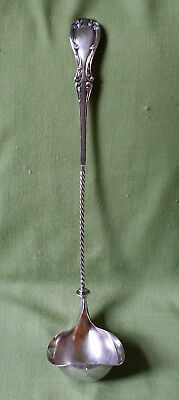 SilverPlate Punch Ladle w Twisted Handle/Double Spout / Joan / R Wallace / NMono