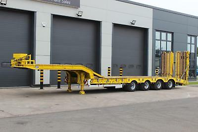 2013 Andover 4 Axle Extendable Low Loader 67000kg GVW Extends 3.5mtr, BPW Axles