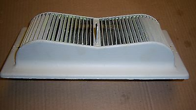 """Vintage Double Curve Heat Register 11 3/4 x 5 1/2 fits 9 1/2 x 4"""" opening"""