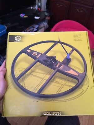 """Mars Goliath Coil For The Makro Racer And Racer 2 Metal Detectors 15""""x15"""