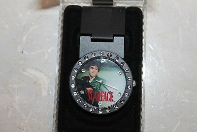 Scarface, Tony Montana,  Money Clip Watch brand new comes with new battery