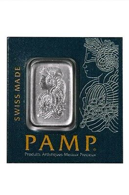 1 Gram Pamp Suisse Platinum Bar Multigram .9995 Fine (In Assay)