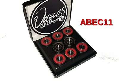 VAMOS Speed Bearings - ABEC11 Premium Kugellager - Longboard Skateboard Fidget