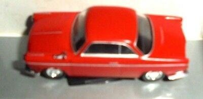 car 1/87 HERPA 023726 BMW 700 SP/LS 1959 RED NEW BOX