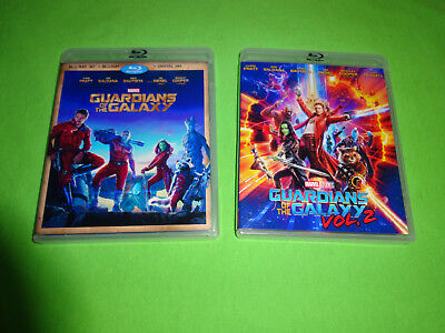 Empty Blu-Ray Replacement Case!  Guardians Of The Galaxy Collection Vol 1 + 2 3D