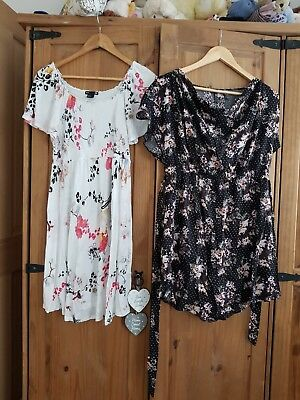 Maternity Summer Dress Bundle Size 14 / 16 H&M and New Look