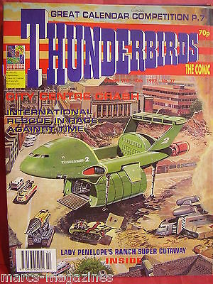 Rare Thunderbirds 1992 Issue # 27 Lady Penelope Ranch