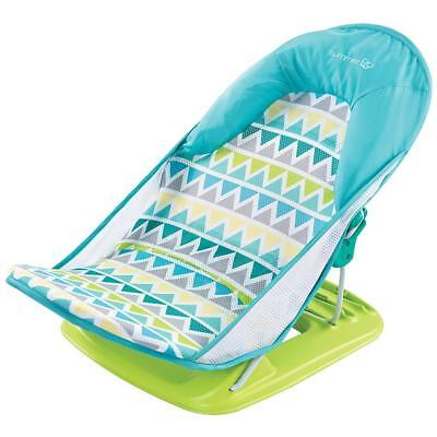 Deluxe Baby Bather Newborn Baby Bath Seat Support Foldable Travel Bath Seat New