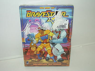 The Best Of Bravestarr (DVD, Region 1, English, Spanish, 2007, 2-Disc Set) NEW