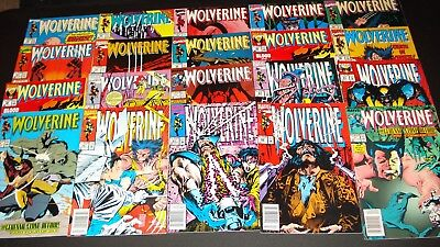 20 comic book Wolverine  lot