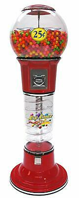 ROADRUNNER SPIRAL GUMBALL VENDING MACHINE-TALL/Selectivend **NEW** FREE SHIPPING