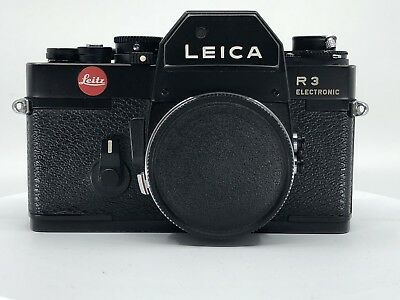 Leica R3 Electronic Reflex Camera 24x36 Camera + Manual, Body Without Lens