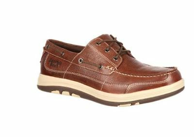 Georgia Boot Men's Steel Toe EH Tybee Island Boat Shoe GB00077 Size 9 M
