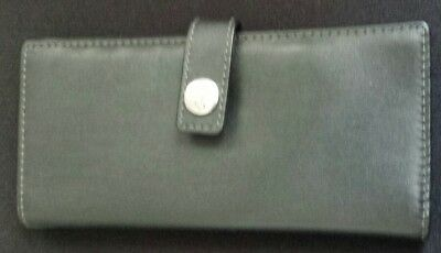 COACH Black Leather Business/Credit Card Holder  NEW