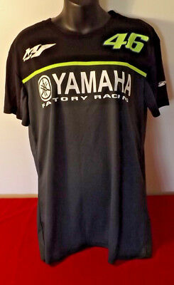 Yamaha Racing Official 46 Rossi Shirt Like New Condition Ideal Gift Size Xl