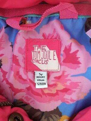 Used Joules Girls Coat Age 5