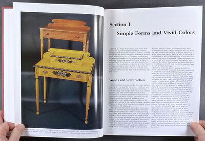American Maine Antique Painted Folk Country Furniture Exhibition Catalog