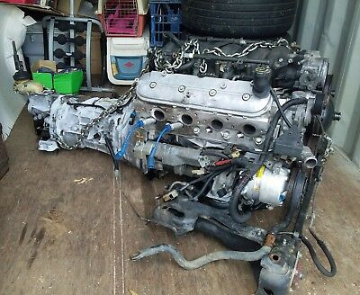 LS1 Engine, T56 6spd gearbox , ECU, Loom, 3:45 LSD Diff, D-shaft, radiator, fans