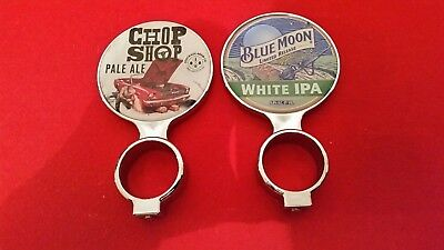Chop Shop Pale Ale And Blue Moon Ltd Release White Ipa-Tap Top Beer Decal
