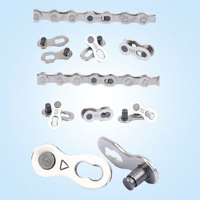 Reuseable Bicycle Bike Chain Connector Link Joint Speed Repair Part Useful NEW