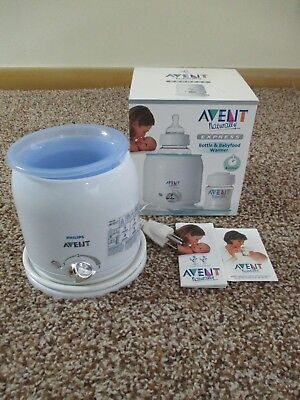 Philips Avent Naturally Express Electric Bottle & Babyfood Warmer Made England