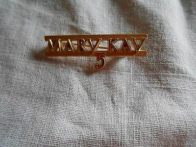Vintage Mary Kay 5 Year Employee Service Pin