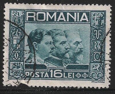 Romania Scott #403, Single 1931 Complete Set FVF Used