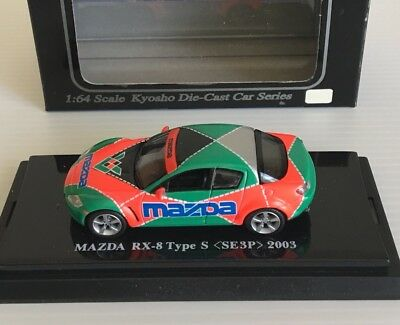 Kyosho Mazda Rotary Rx8 Type S Se3P 1/64 Scale Lemans Livery
