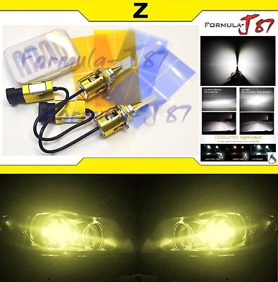 LED Kit Z 96W 9155 3000K Yellow Fog Light Bright Upgrade Replacement Plug Play