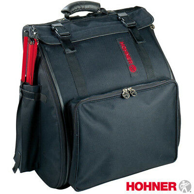 NEW Hohner Piano Accordion Gig Bag Case AGB120 for 96 120 Bass - Black