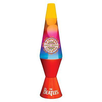 Beatles Collectible: 2015 Lava Lite SGT Pepper Lonely Hearts Club Lava Lamp
