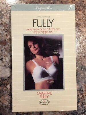 Ful-ly Extra Support For Bra Size 44D White Color Style P532