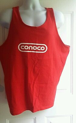 CONOCO (Oil Company logo) Mens Tank  shirts Hydroclear The Clear Solution
