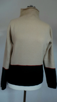 Original Burberry Damenpullover-100% Kaschmir Gr.l-Made In Italy