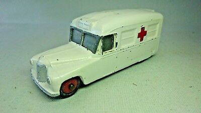 Dinky Daimler Ambulance, Red Wheels. No 253 (Meccano Ltd.) **FREE DELIVERY**