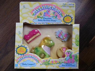 Hasbro My Little Pony Mein Kleines Playtime Brother Leaper MIB Boxed MIP