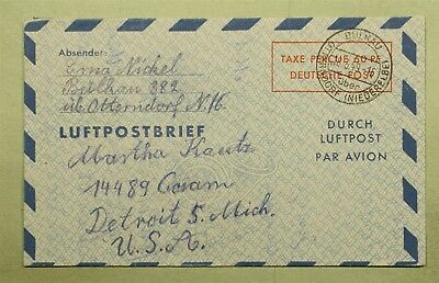 Dr Who 1949 Germany Aerogramme Postage Paid C23345