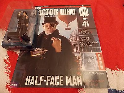Dr Who Figurine Collection 41 The Half Face Man