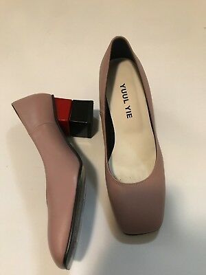 Yuul Yie designer shoes size 36 perfect condition block heel