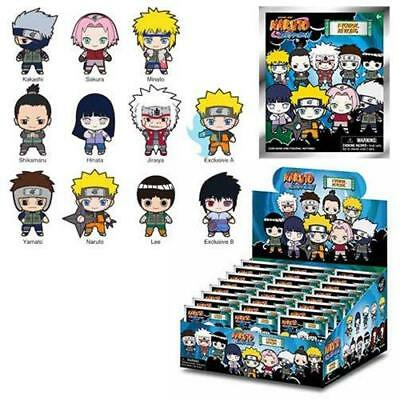 Case of 24  Naruto Authentic 3D Figural Collectible Keyring  Keychain Blind box