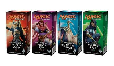 FULL 2018 CHALLENGER DECK SET! Wizards of the Coast Magic the Gathering