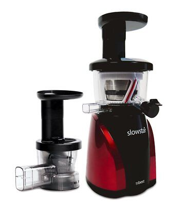 Tribest Slowstar SW-200 Vertical Slow Juicer and Mincer, Cold Press Masticating