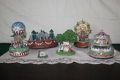 Liberty Falls Collection Lot of 6 Hard to Find Miniatures