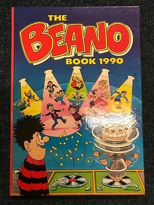 The Beano Book - Annual Hardback 1990 - Good Condition