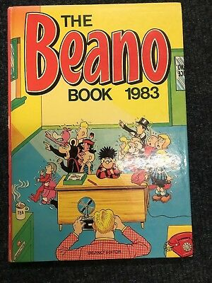The Beano Book - Annual Hardback 1983 - Good Condition